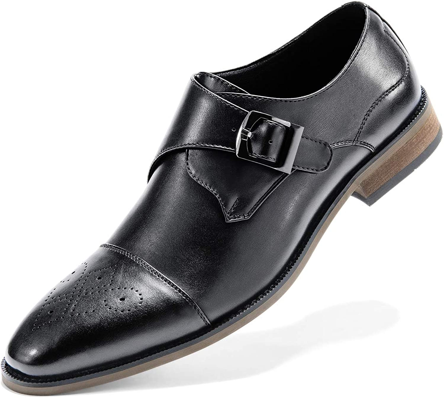 Men's Dress shoes Slip On Classic Plain-Toe Loafer Monk shoes shoes De men