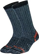 PlusAg 2P Pack Men's Outlast Blended Outdoor Work Socks