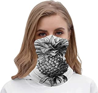 Cafe icon Set in Flat and Modern Style Illustration Malaysia,Seamless ana Neck Gaiter Tube wear for Women Men Coffee - Drink