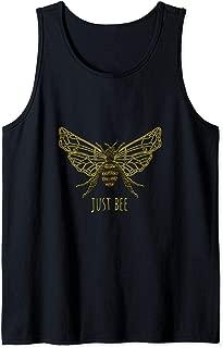 Zen Just Bee Boho Yoga Lover Gift Spiritual Bumble Bee Tank Top