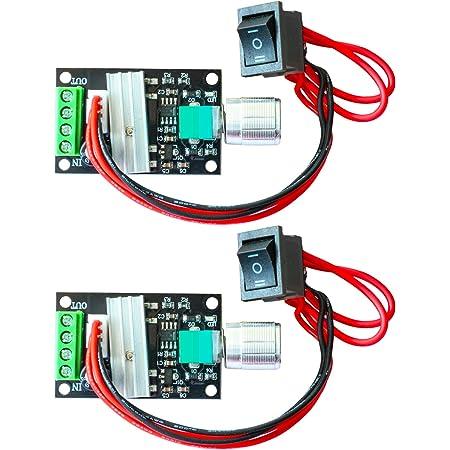 DC 6V//12V// 24V 3A Reversible Motor Speed Controller Regulator Driver Switch PWM