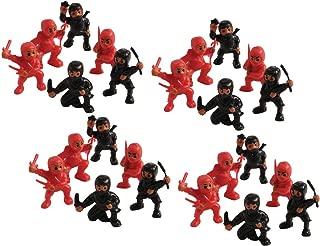 2 Dozen (24) MINI Plastic NINJA WARRIOR Figures 1.25