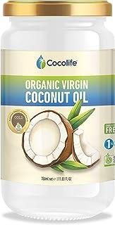 Cocolife Organic Virgin Coconut Oil, 350 ml