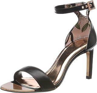 Mujer De esCorrea Para Amazon Tobillo Zapatos Tacón FclK1J