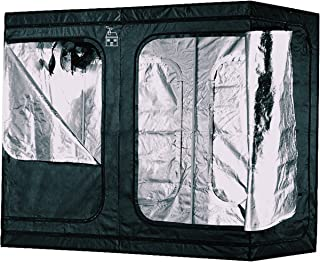 Plant House Compact Heavy Duty Hydroponic Indoor Plant Grow Tent   Anti-Burst Zipper Technology   Holds up to 110lbs from Ceiling   100% Lightproof Design   Upgraded BoPET Film for 98% Reflectivity