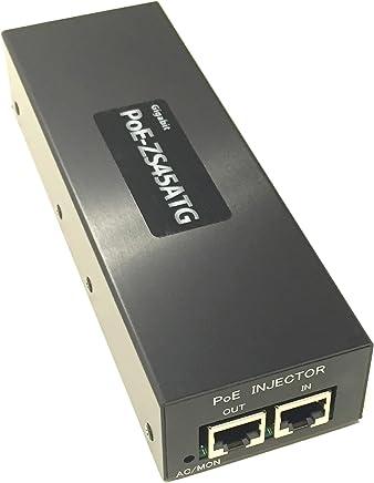 NewType! ギガビット、PoE Plus対応PoEインジェクタ IEEE802.3af/at準拠 最大45W出力 PoE-ZS45ATG 高温環境