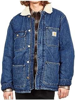 Carhartt Men's Jeans Jacket Oversize I020406BLDRK