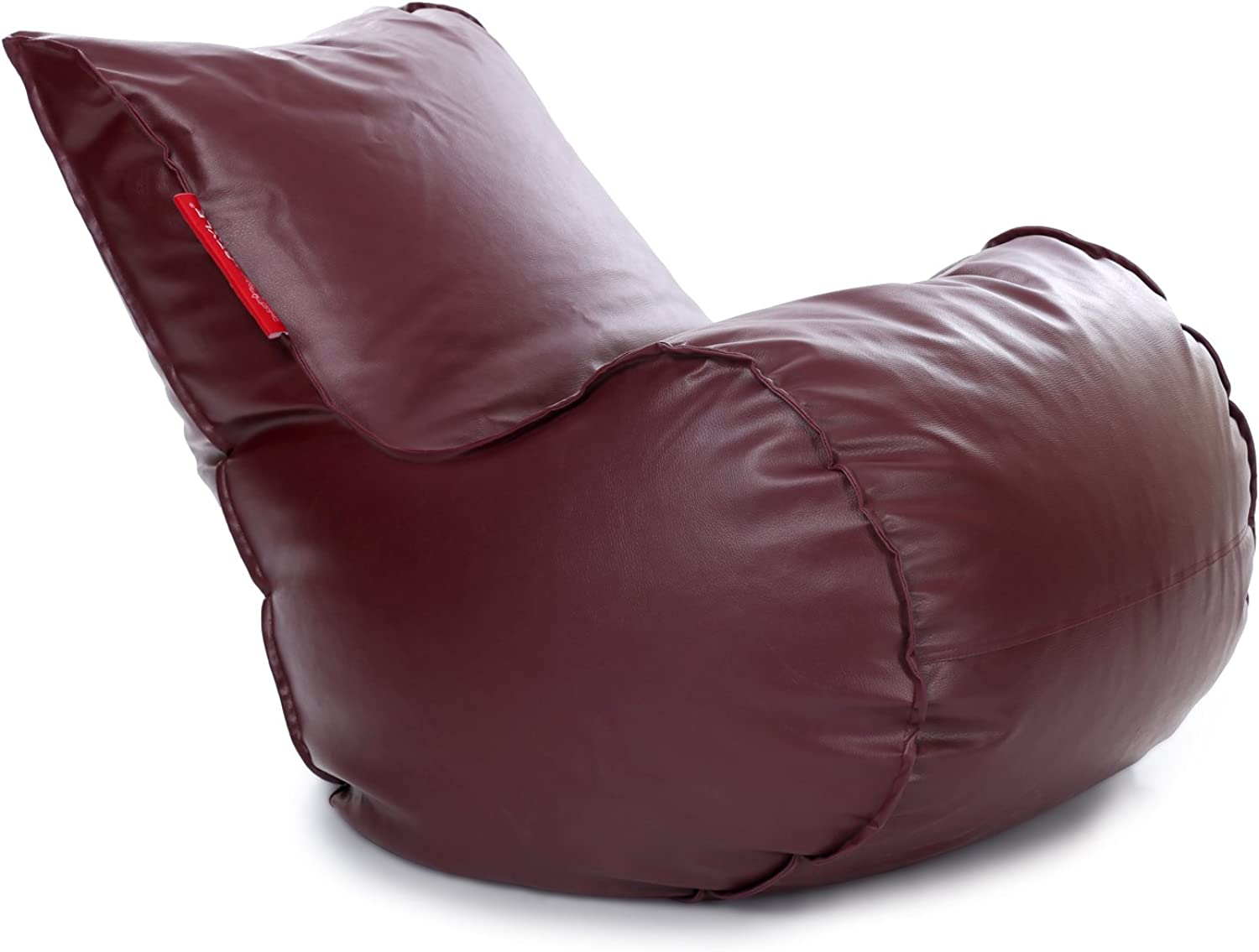 Style Homez Mambo Bean Bag XL Size Maroon Cover Only