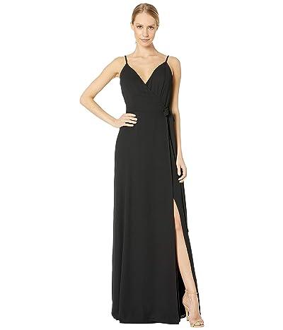 WAYF Angelina Gown (Black) Women