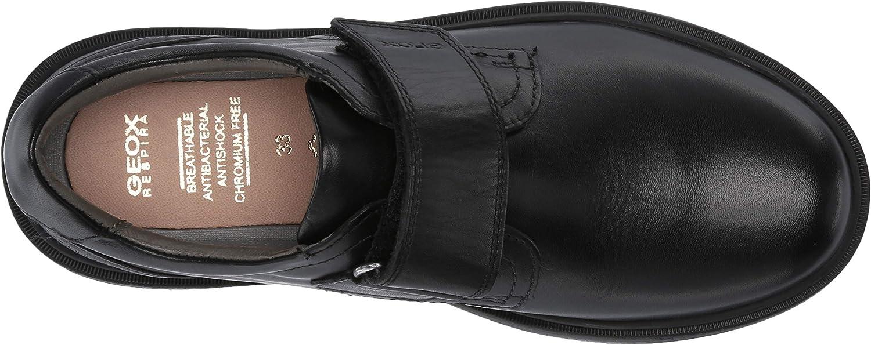 Geox Unisex-Child Riddock Boy 4 Velcro Dress Sneaker Shoe School Uniform