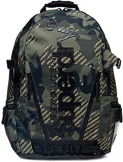 Camo Logo Tarp Hombre Backpack Verde