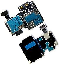 SIM & SD Card Holder Reader Flex Assembly For Samsung Galaxy S4 IV AT&T i337