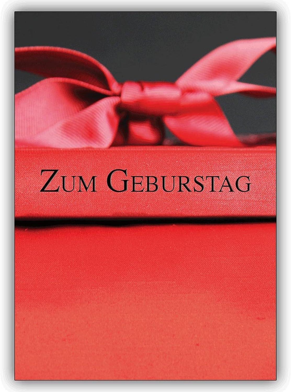 16 Geburtstagskarten (16er Set) Set) Set)  Motiv Edle Geschenkbox mit Schleifen... Geburtstagskarte  Zum Geburtstag B00VQPLTG2 | Kaufen Sie online  c67d99