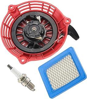 oxoxo Replace Recoil Starter with Air Filter Spark Plug for Honda gc135GC160gcv135gcv160Generador Engine