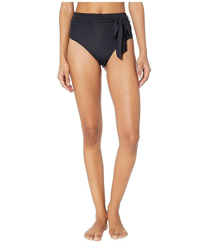 Vitamin A Swimwear Lola Bottoms (Black EcoLux) Women