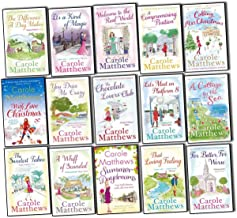 Carole Matthews Collection 15 Books Set,(The Chocolate Lover's Club, A Compromising Position, Welcome to the real world, T...