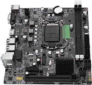 Tosuny Scheda Madre del Computer Desktop LGA 1155 Scheda Madre SATA USB3.0 per Intel B75