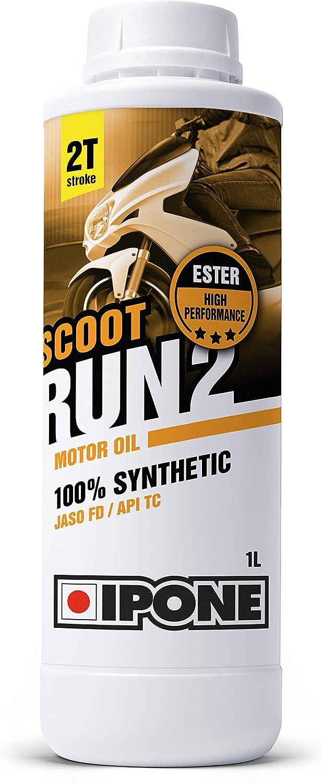 Ipone Scoot Run 2 800117- Aceite para Motor de2Tiempos de Alto Rendimiento