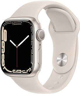 Apple Watch Series7 (GPS, 41mm) - Starlight Aluminium Case, Starlight Sport Band