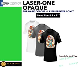 Heat Press Laser Printer Transfer Paper Dark Clr 50 Pk