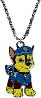 Nickelodeons PAW Patrol Chase Necklace Pendant Cartoons TV Comics Movies Superhero Theme Premium Quality Detailed Cosplay Jewelry Gift Series