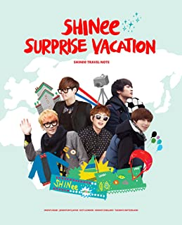 [PhotoBook] SHINee - SHINee Surprise Vacation Travel Note 01 (+Note)