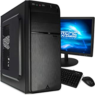 Xtreme PC AMD Radeon Dual Core 8GB 320GB Monitor 18.5 WiFi