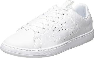 لاكوست حذاء بأربطة بني للنساء - مقاس