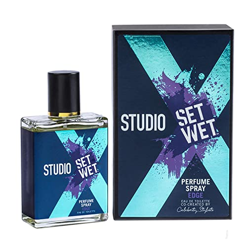 Set Wet Studio X Perfume Spray for Men, Edge, 49ml