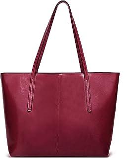 Myhozee Handtasche Damen Tasche Schultertasche Casual Handtaschen Shopping Bag Umhängetasche Elegant Groß für Alltag Büro ...