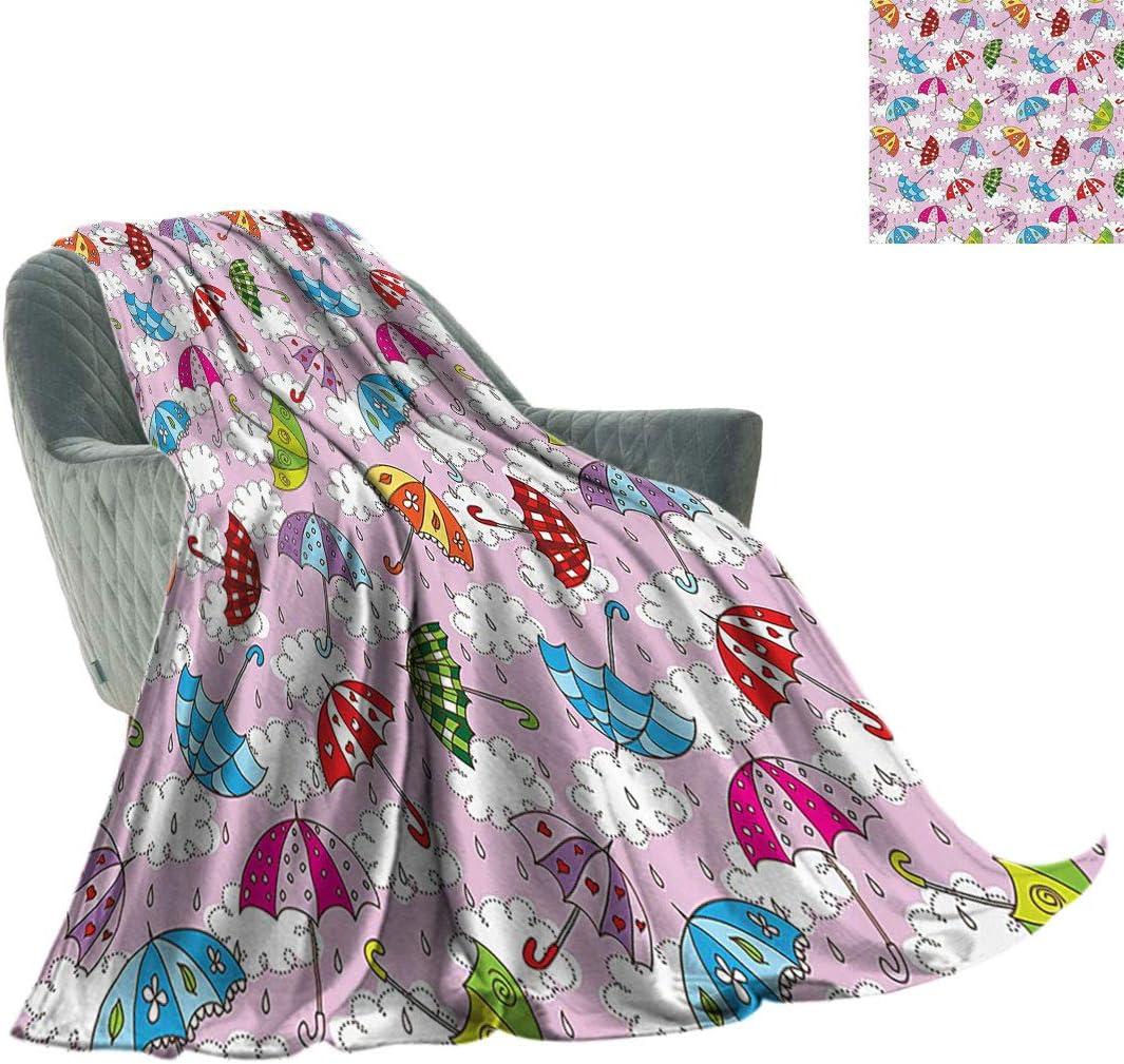 Apartment [Alternative dealer] Decor Soft Bed Fort Worth Mall Blanket Cute Umbrella in Air Figures w