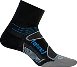 Feetures - Elite Ultra Light - Quarter - Athletic Running Socks for Men and Women