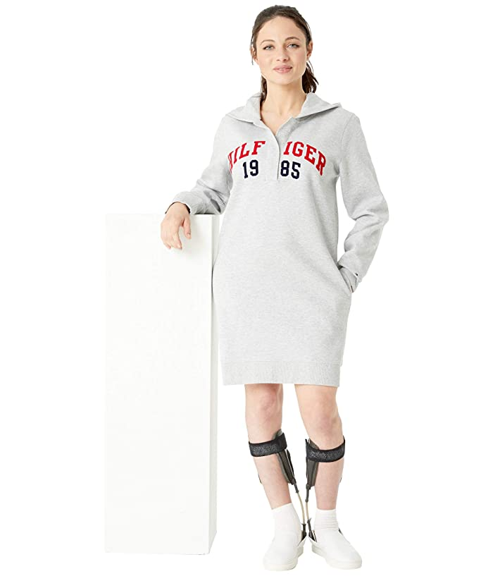 be75aa179fc Tommy Hilfiger Adaptive Hoodie Sweatshirt Dress with Magnetic Buttons