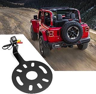 $54 » UTVJATV Spare Tire Rear View Camera Backup Camera Spare Tire Mount Camera fits for Jeep Wrangler JK 2007-2018