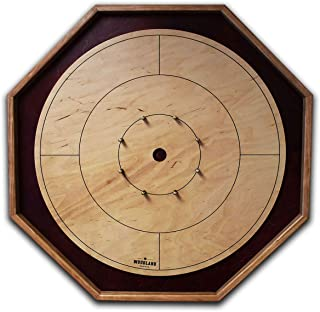 The Baltic Bircher - Tournament Size Crokinole Board Game Set