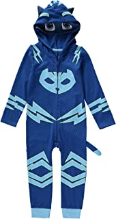 PJ Mask Toddler Boys Catboy Glow In the Dark Costume with 3D Ears