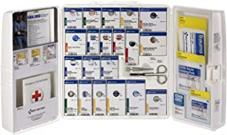 Pac-Kit by First Aid Only 90608 Large Plastic SmartCompliance First Aid Cabinet with Medications