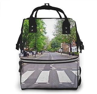 Luiertas Rugzak, JOJOshop De Abbey Road Grote Multifunctionele Reisrugzak, Grote capaciteit, Waterdicht en Stijlvol