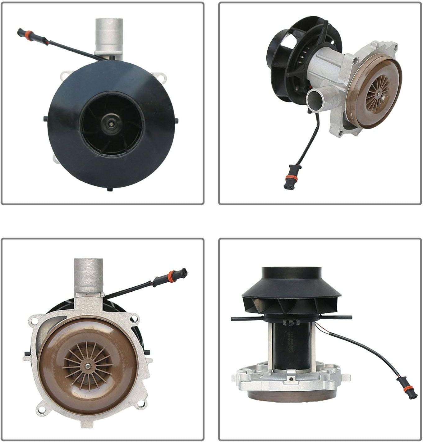 Phrat Blower Motor for Parking Heater 12V for Eberspacher Airtronic D2 2KW Big Leaf Assembly Combustion Air Fan
