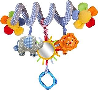 YIDAINLINE Spirale Bett Kinderwagen Spielzeug Kleinkind Baby Aktivit/ät p/ädagogische Pl/üschtier Bett h/ängen Spielzeug Fuchs