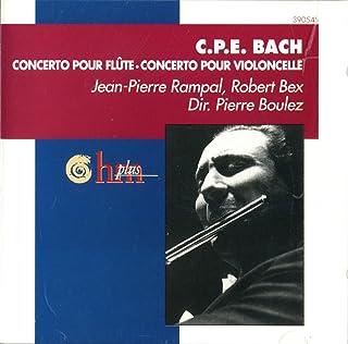 C.P.E Bach: Flute Concerto, Cello Concerto