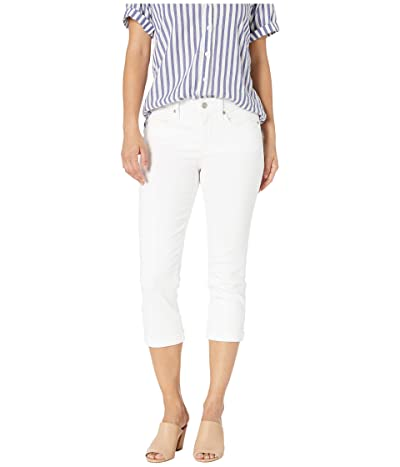 NYDJ Petite Petite Chloe Capri Jeans in Optic White (Optic White) Women