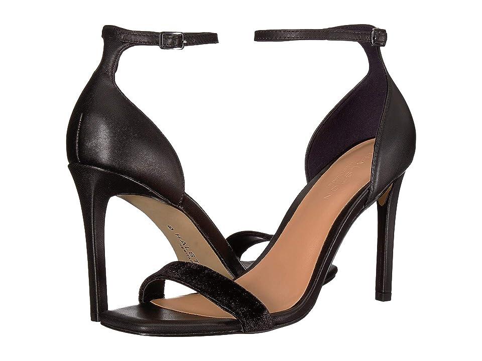 Halston Heritage Myra Heels (Black Leather) Women