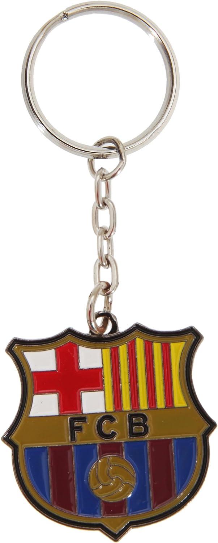 Fc Barcelona Offizielle Metall Fußball Crest Schlüsselanhänger
