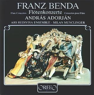 ベンダ:4つのフルート協奏曲 [Import](FRANZ BENDA:Flute Concertos)