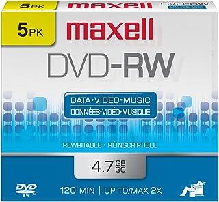 MAXELL DVD-RW 4.7GB 2X (NCP) 5PK