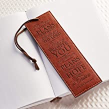 For I Know The Plans Brown Bookmark - Jeremiah 29:11 (4.99)