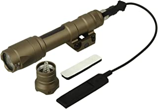 ZTAC Element Airsoft SF M600C Weapon Tactical Light LED Scout flashlight EX 072(Tan),tactical lights,Tactical flashlight,weapon lights,Hunting flashlight,Waterproof flashlight