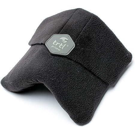 trtl Pillow – Scientificamente Provato Super Morbido Cuscino da Viaggio (Nero, Adulto)