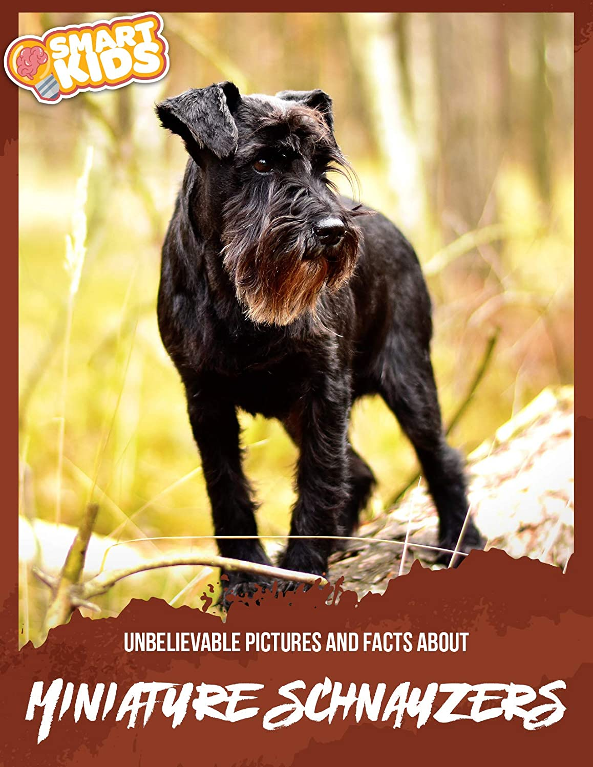 フィードオンより平らな膨らみUnbelievable Pictures and Facts About Miniature Schnauzers (English Edition)